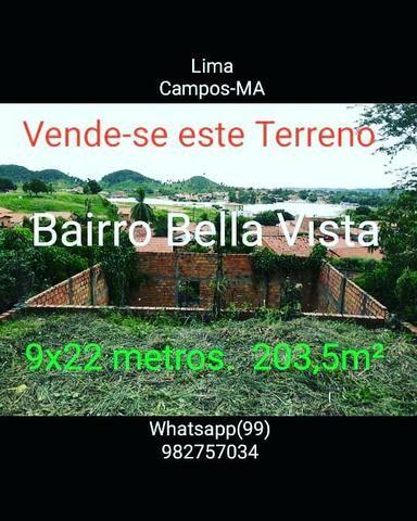 Vendo terreno em Lima Campos -MA