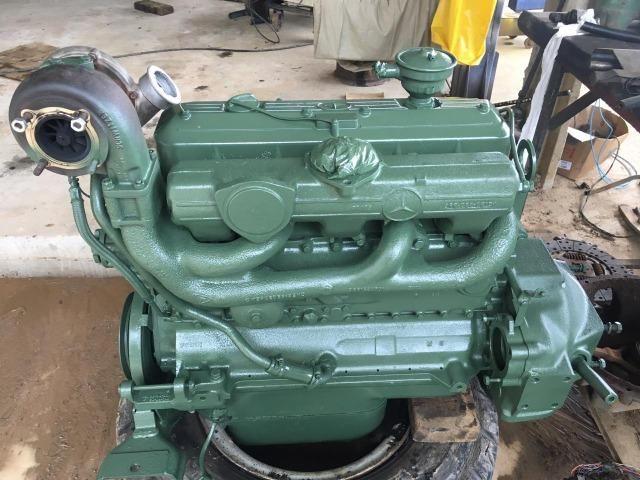 Motor OM 366 Mercedes 1218 1418 1618 1620 base de troca
