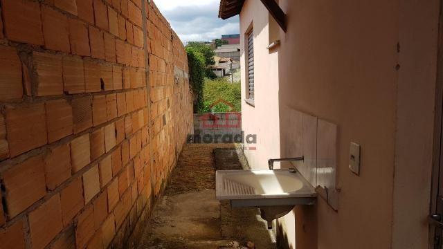 Casa para aluguel, 2 quartos, cidade nova - itauna/mg - Foto 4