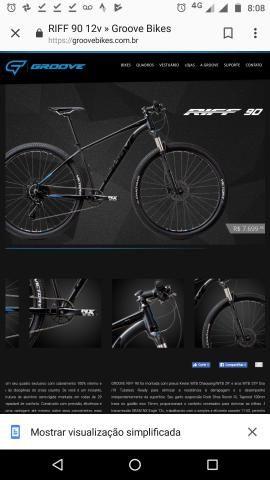 Bicicleta aro 29 riff 90 2019