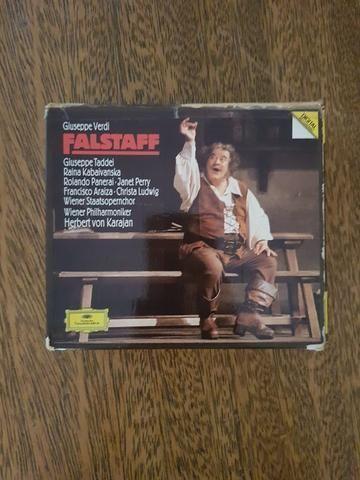 Cd Duplo - Giuseppe Verdi: Falstaff - Herbert von Karajan, Giuseppe Taddei - Deutsche gram
