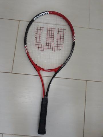 Raquete de Tênis Wilson original + capa