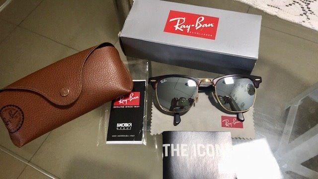 dd7837f5c4591 Óculos Ray-ban Clubmaster Original Semi Novo - Bijouterias, relógios ...