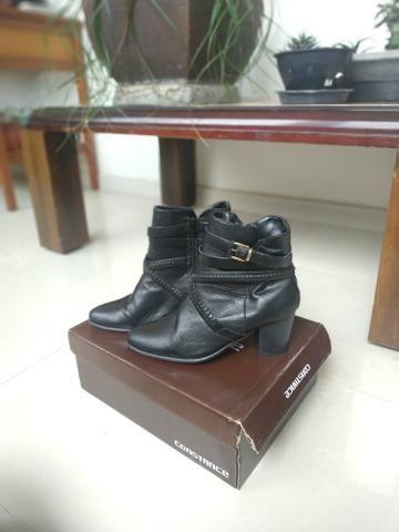 0e8e178cd Bota feminina de couro Constance (37) - Roupas e calçados - Dona ...