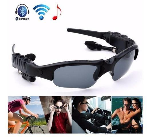 Oculos De Sol Com Fone De Ouvido Mp3 Player E Bluetooth - Ciclismo ... 2d7281b60f