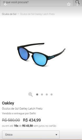 cbec0518c Oculos De Sol Stringer Da Oalkey Novinho!!! - Bijouterias, relógios ...