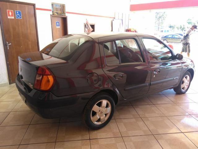Renault clio sedan privilege 1.6 16v completo 2004 - Foto 11