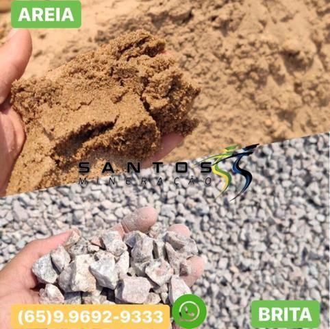 Areia , Brita , Pedrisco , Rabo de Bica, Aterro