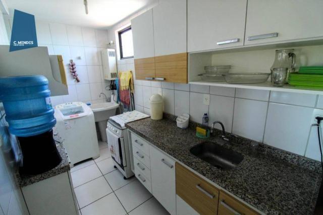 Apartamento Duplex com 5 dormitórios para alugar, 130 m² por R$ 4.500,00/mês - Mucuripe -  - Foto 19