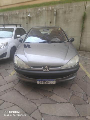 Peugeot 206 1.6 16v 110cv - Banco de couro - Foto 3