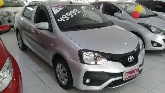 Etios X Sedan Aut baixa km 1.5 DE r$50.990,00 por r$46.990,00 - Foto 2