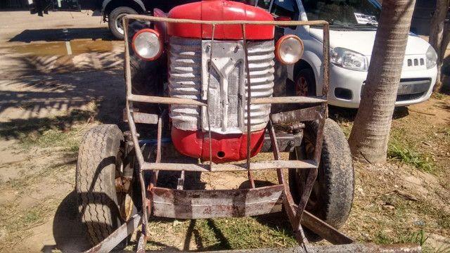 Trator MF 50X ano 1969 - Foto 2