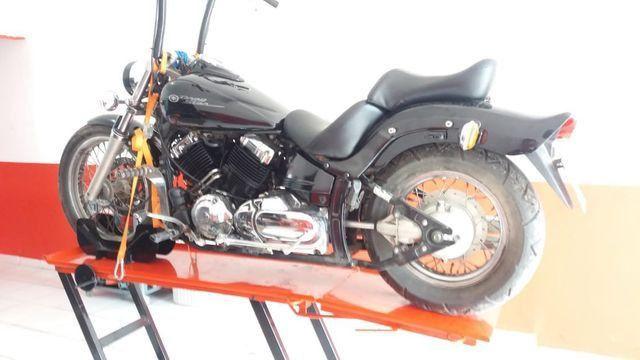 Elevador de motos 350 kg de fabrica - Foto 9