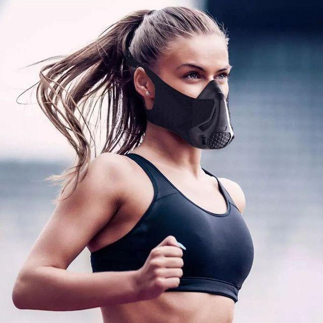 Mascara anti poluição vírus academia crossfit caminhada corrida bike ciclismo - Foto 2