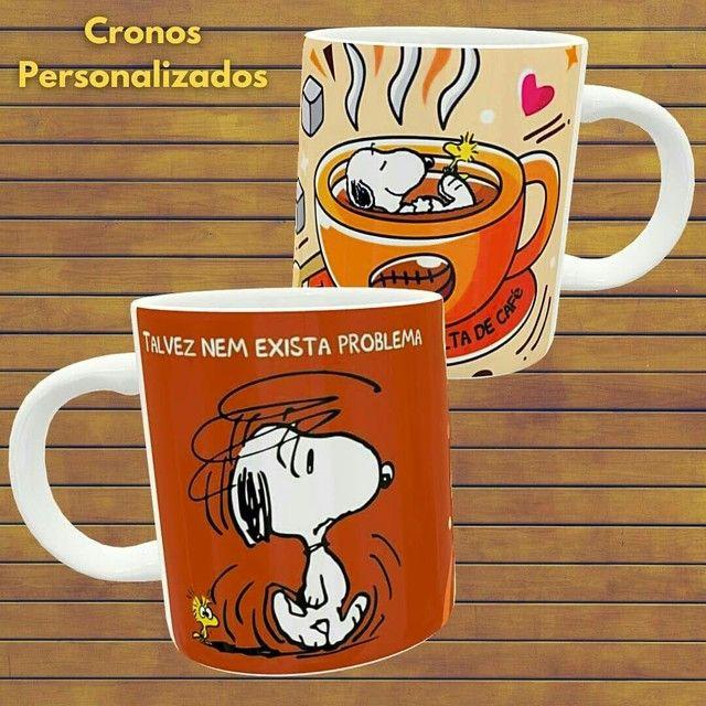 Canecas personalizadas do Snoopy  - Foto 2
