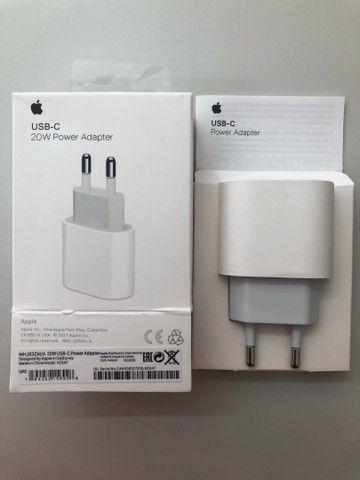 Carregador USB-C de 20W para iPad Pro e iPhone  - Foto 2