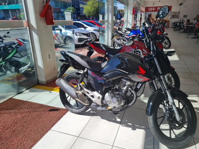 Moto Honda Fan 160 Entrada: 1.480 Financiada!!! - Foto 7