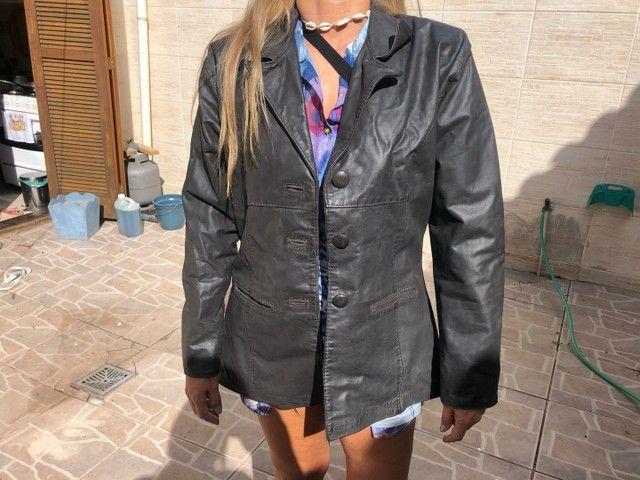 jaqueta feminina couro legítimo  - Foto 2