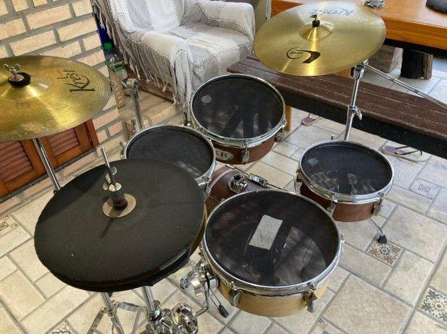 Bateria Coffee Kit - Kr Custom Drums - Foto 4
