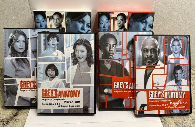 Greys Anatomy - 1, 2 E 3 Temporadas - Original - Foto 3