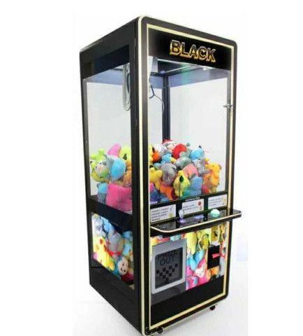 Máquina de diversão - Parceria de negócio