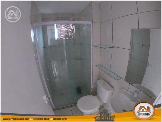 Apartamento com 3 dormitórios à venda, 64 m² por R$ 250.000 - Maraponga - Fortaleza/CE - Foto 10