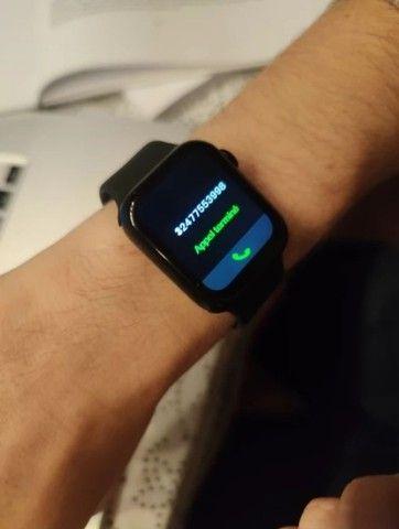 Smartwatch HW12 _ FAZ E RECEBE LIGAÇÃO _ ACEITO CARTÃO - Foto 5