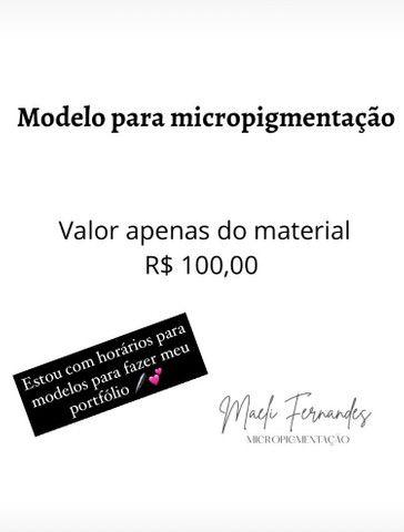 Modelo para micropigmentação