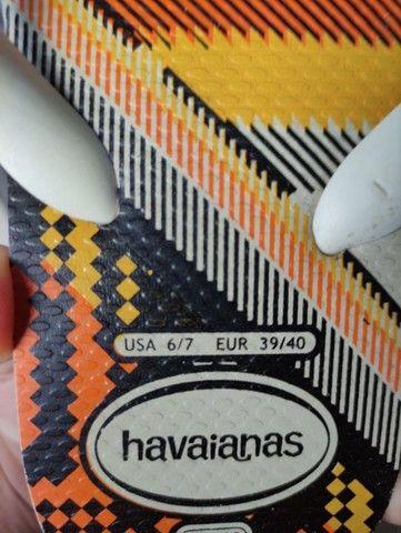 Vendo Havaiana 39/40 Nova - Foto 3