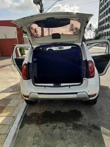 Renault Duster - branca - automático - único dono - Foto 5