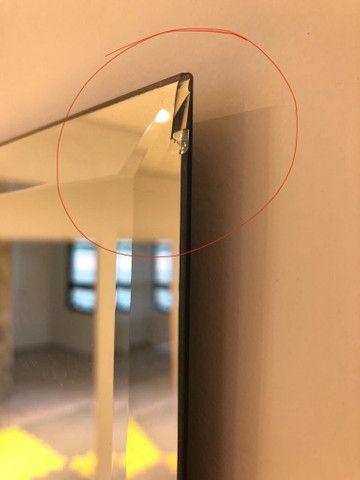 Espelho bisotê 1.80 x 1.00 com avaria  - Foto 2