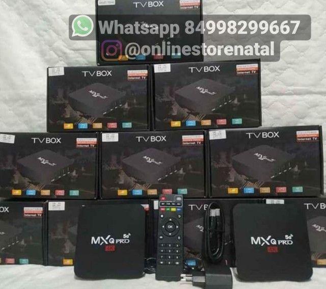 Tv box em promoção <br>64GB de memoria
