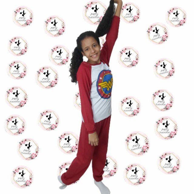 Pijama infantil personagem 02 à 12 anos - Foto 3