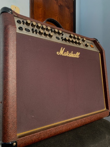 Amplificador Marshall Acoustic AS100D Combo 100W - Foto 5