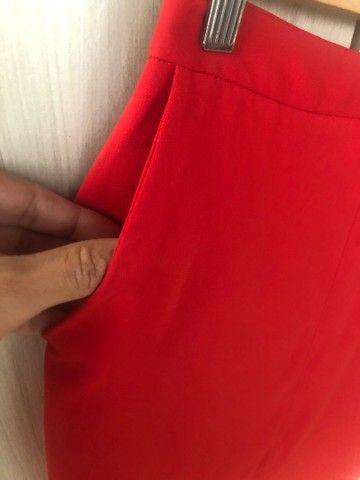 Saia vermelha TAM P comprada em Portugal  - Foto 5