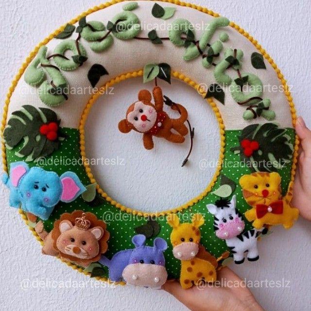 Guirlandas Porta de Maternidade  - Foto 2