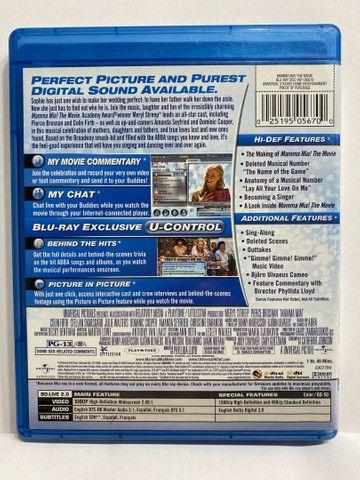 Mamma Mia The Movie - Blu Ray - Importado - Foto 2