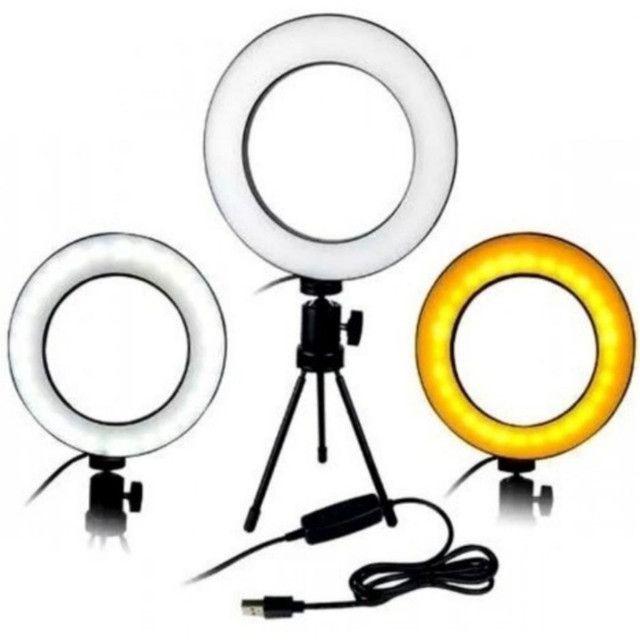 Luminária led USB com tripé articulável - Foto 3