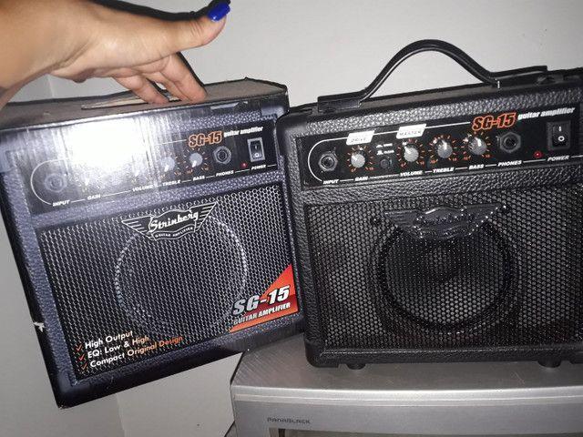 Guitarra Strinberg com amplifier - Foto 6