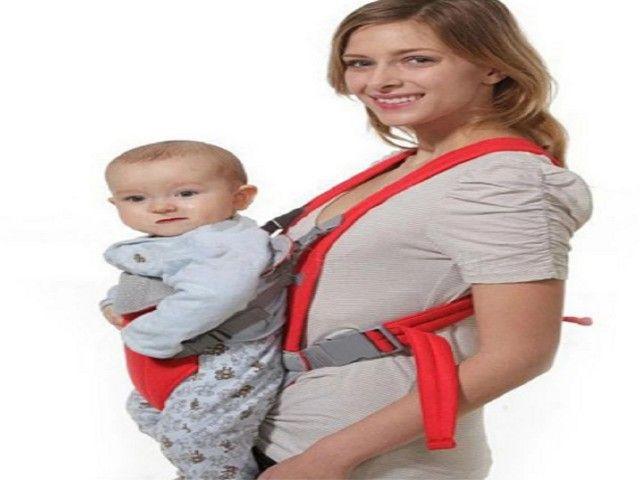 Suporte canguru para bebê 3-18 meses, bolsa transportadora canguru - Foto 3