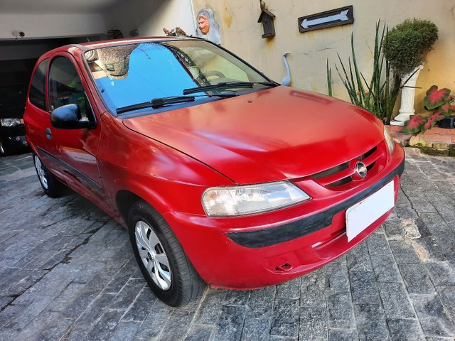 Chevrolet Celta Spirit  1.0 8v 05 Vermelho  * Parcelo na Promissória *
