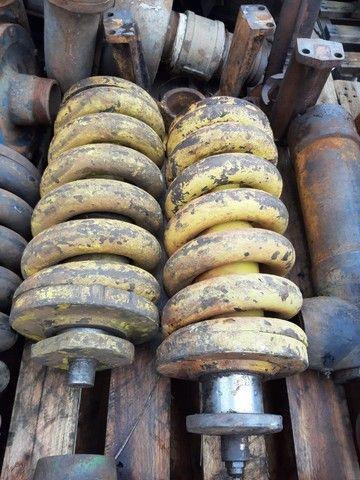 Mola tensora e roda guia rolete John Deere  - Foto 3