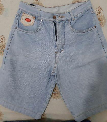 Bermuda jeans Taco tamanho 38