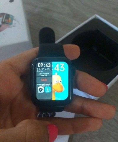 Smartwatch HW12 _ FAZ E RECEBE LIGAÇÃO _ ACEITO CARTÃO - Foto 2