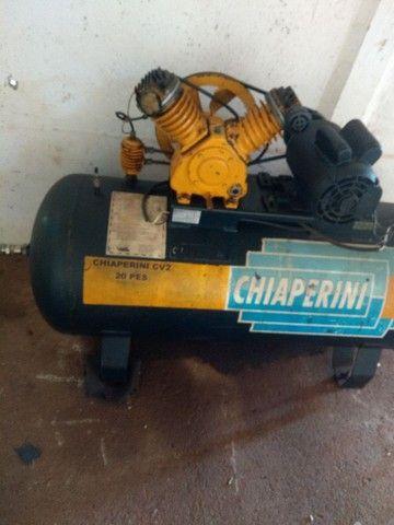 Vende-se Compressor 20 pés monofásico voltagem 220 - Foto 2