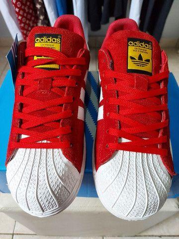 "Adidas Superstar ""Camurça"" - Foto 4"