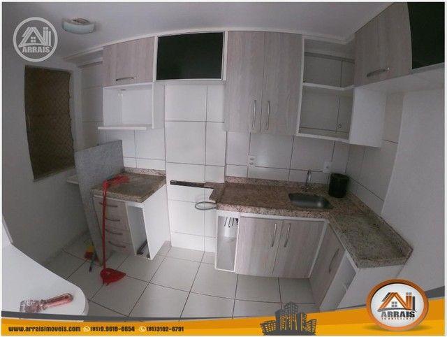 Apartamento com 3 dormitórios à venda, 64 m² por R$ 250.000 - Maraponga - Fortaleza/CE - Foto 8