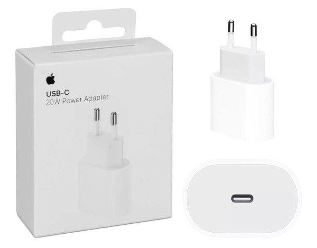 Carregador USB-C de 20W para iPad Pro e iPhone