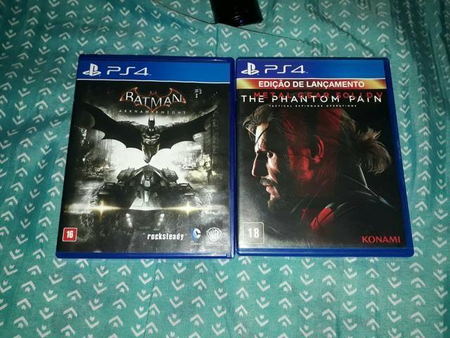Troco jogo PS 4
