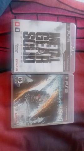 Jogo PS3 Metal Gear Legacy e Metal Gear Rising
